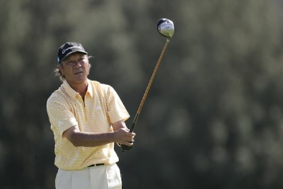 Isao Aoki in action during the third round of the 2006 Turtle Bay Championship - Turtle Bay Resort,  Kahuku, Oahu, HawaiiPhoto by: Chris Condon/PGA TOUR