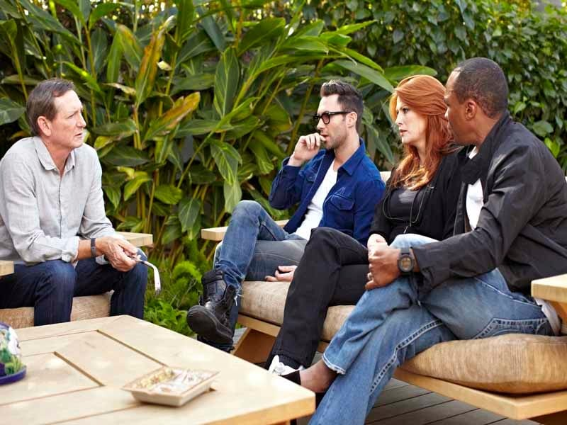The Haney Project,  Angie Everhart, Sugar Ray Leonard, Adam Levine and Hank Haney