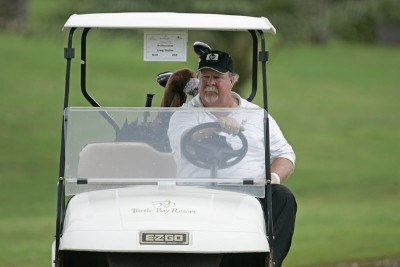 Craig Stadler in his cart during the Thursday Pro Am at the 2006 Turtle Bay Championship - Turtle Bay Resort,  Kahuku, Oahu, HawaiiPhoto by: Chris Condon/PGA TOUR