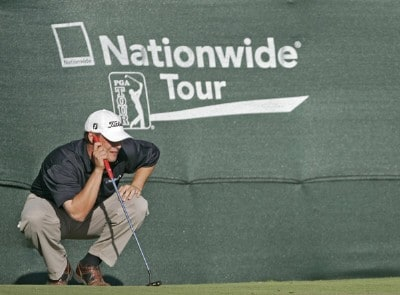 Johnson Wagner in action during the final round of the Chitimacha Louisiana Open at Le Triomphe Country Club in Broussard, Louisiana on Sunday, March 26, 2006.Photo by Drew Hallowell/WireImage.com