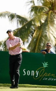 Jim Furyk hits a drive during practice at the Sony Open in Hawaii held at Waialae Country Club on January 9, 2008 in Honolulu, Hawaii. PGA TOUR - 2008 Sony Open in Hawaii - Pro-AmPhoto by Stan Badz/PGA TOUR/WireImage.com