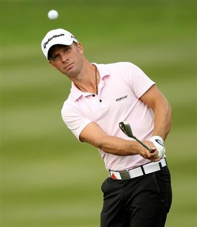 SHANGHAI, CHINA - NOVEMBER 06:  Richard S Johnson of Sweden during the third round of the WGC - HSBC Champions at Sheshan International Golf Club on November 6, 2010 in Shanghai, China.  (Photo by Ross Kinnaird/Getty Images)
