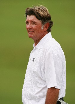 PORT SAINT LUCIE, FL - OCTOBER 26:  Tommy Armour III walks off the ninth hole after a birdie during the second round of the Ginn Sur Mer Classic at Tesoro October 26, 2007 in Port Saint Lucie, Florida.  (Photo by Doug Benc/Getty Images)