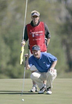 Jim McGovern on the 6th hole during the first round of the Nationwide Tour Championship held on the Senator course at Capitol Hill GC in Prattville, Alabama on Thursday, October 27, 2005.Photo by Sam Greenwood/WireImage.com