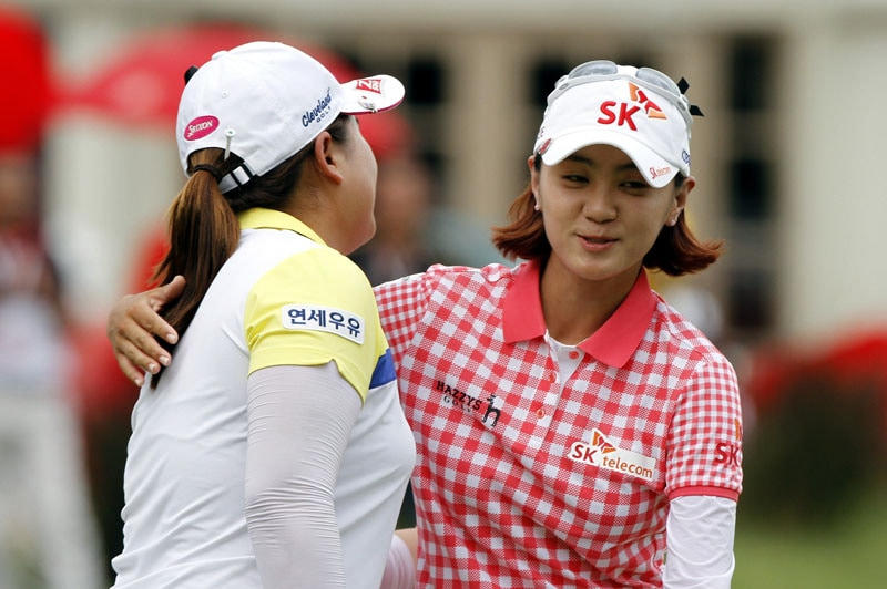 Inbee Park and Na Yeon Choi