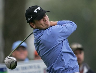 Zach Johnson during the second round of the 2007 Wachovia Championship held at Quail Hollow Country Club in Charlotte, North Carolina on May 4, 2007. PGA TOUR - 2007 Wachovia Championship - Second RoundPhoto by Richard Schultz/WireImage.com