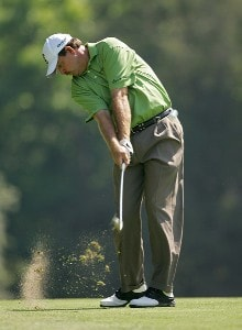 Bart Bryant during the first round the 2006 Wachovia Championship at the Quail Hollow Club in Charlotte, North Carolina on May 4, 2006.Photo by Sam Greenwood/WireImage.com