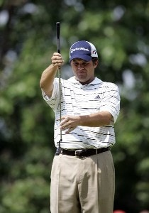 Robert Damron  during the third round of the Cialis Western Open on the No. 4 Dubsdread course at Cog Hill Golf and Country Club in Lemont, Illinois on July 8, 2006.Photo by Michael Cohen/WireImage.com