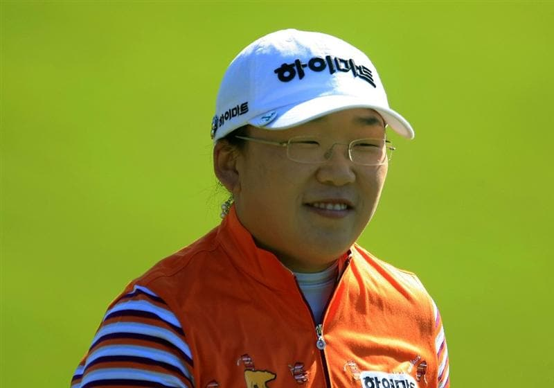 WEST PALM BEACH, FL - NOVEMBER 20:  Ji-Yai Shin of South Korea walks off the ninth tee during the first round of the ADT Championship at the Trump International Golf Club on November 20, 2008 in West Palm Beach, Florida.  (Photo by Scott Halleran/Getty Images)