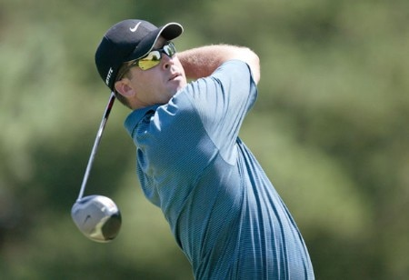 Chris Couch in action during the third round of the 2005 Preferred Health Systems Wichita Open at Crestview Country Club in Wichita, Kansas on Saturday, July 30th, 2005.Photo by Hunter Martin/WireImage.com