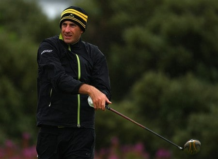 SOUTHPORT, UNITED KINGDOM - JULY 17:  Geoff Ogilvy of Australia watches his tee shot on the 2nd hole during the First Round of the 137th Open Championship on July 17, 2008 at Royal Birkdale Golf Club, Southport, England.  (Photo by Richard Heathcote/Getty Images)