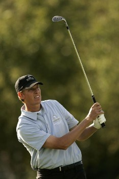 Maarten Lafeber during the third round of the 2005 Seve Trophy at the Wynyard Club's Wellington Course. September 24, 2005Photo by Pete Fontaine/WireImage.com