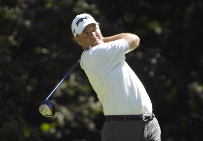 SILVIS, IL - JULY 12:  Ted Purdy during the first round of The John Deere Classic at the TPC Deere Run on July 12, 2007 in Silvis, Illinois.  (Photo by Marc Feldman/WireImage) *** Local Caption *** Ted Purdy PGA - John Deere Classic - First RoundPhoto by Marc Feldman/WireImage) *** Local Caption *** Ted Purdy