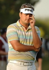 Daniel Chopra misses a birdie putt on the 18th green during the final round of the Fry.com Open at the TPC Summerland in Las Vegas, Nevada on Sunday, October 15, 2006 PGA TOUR - 2006 Frys.com Open - Final RoundPhoto by Marc Feldman/WireImage.com