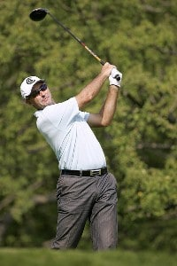 David McKenzie during the second round of the Cialis Western Open on the No. 4 Dubsdread course at Cog Hill Golf and Country Club in Lemont, Illinois on July 7, 2006.Photo by Michael Cohen/WireImage.com
