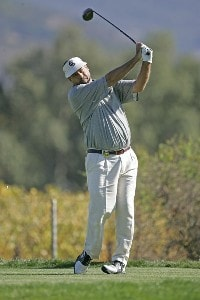Brad Bryant during the first round of the Charles Schwab Cup Championship held at Sonoma Golf Club in Sonoma, California, on October 26, 2006. Photo by: Chris Condon/PGA TOURPhoto by: Chris Condon/PGA TOUR