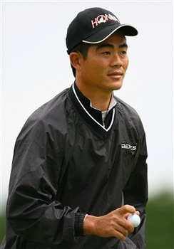 LUSS, UNITED KINGDOM - JULY 10:  Wen-chong Liang of China walks up the fairway during the First Round of The Barclays Scottish Open at Loch Lomond Golf Club on July 10, 2008 in Luss, Scotland.  (Photo by Matthew Lewis/Getty Images)