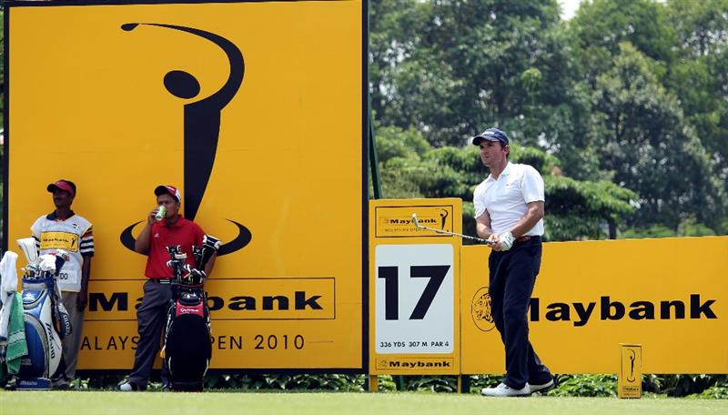 KUALA LUMPUR, MALAYSIA - MARCH 04:  Ignacio Garrido of Spain during the first round of the Maybank Malaysia Open at the Kuala Lumpur Golf & Country on March 4, 2010 in Kuala Lumpur, Malaysia.  (Photo by Ross Kinnaird/Getty Images)