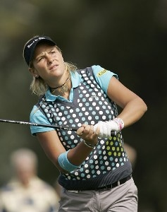 Nicole Perrot during the first round of the Kraft Nabisco Championship held at Mission Hills CC in Rancho Mirage, CA on Thursday, March 30, 2006.Photo by Sam Greenwood/WireImage.com