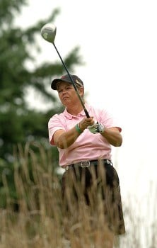 Dawn Coe-Jones in action during the second round of the LPGA's Wendy's Championship For Children at Tartan Fields Golf Club in Dublin, Ohio August 26, 2005.Photo by Steve Grayson/WireImage.com