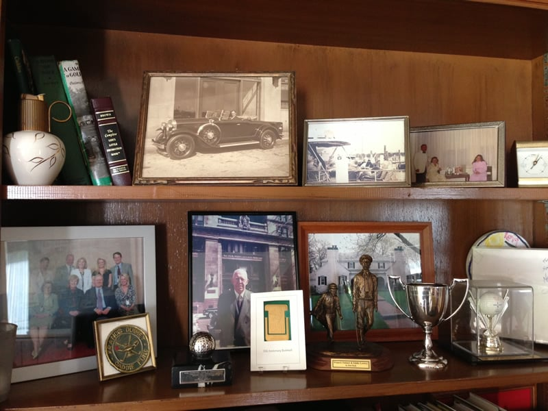 Francis Ouimet images and artifacts