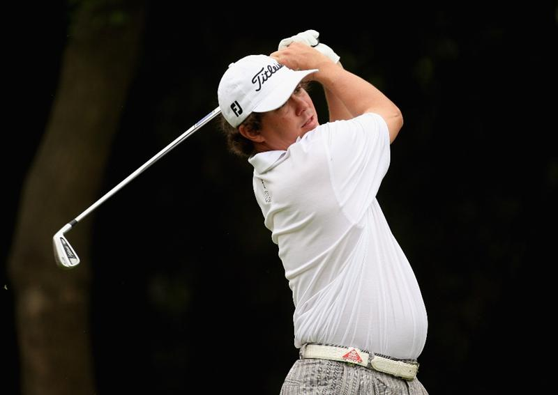 SHANGHAI, CHINA - NOVEMBER 07:  Jason Dufner of the USA on the 6th tee during the third round of the WGC - HSBC Champions at Sheshan International Golf Club on November 7, 2009 in Shanghai, China.  (Photo by Ross Kinnaird/Getty Images)