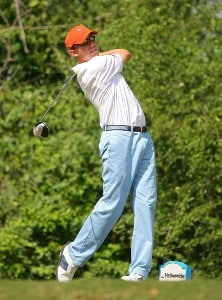 Jason Caron on the 15th hole during the first round of the Chitimacha Louisiana Open at Le Triomphe Country Club in Broussard, Louisiana on March 22, 2007. Nationwide Tour - 2007 Chitimacha Louisiana Open - First RoundPhoto by Mike Ehrmann/WireImage.com