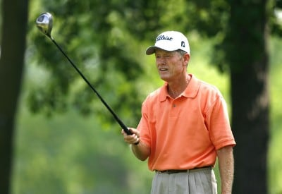 Mike Reid during the second round of the Ford Senior Players Championship held at TPC Michigan in Dearborn, Michigan, on July 14, 2006.