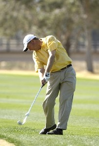 Mark Brooks in action during the third round of the 2006 Chrysler Classic of Tucson on Saturday, February 25, 2006 at the Omni Tucson National Golf Resort and Spa in Tucson, ArizonaPhoto by Marc Feldman/WireImage.com