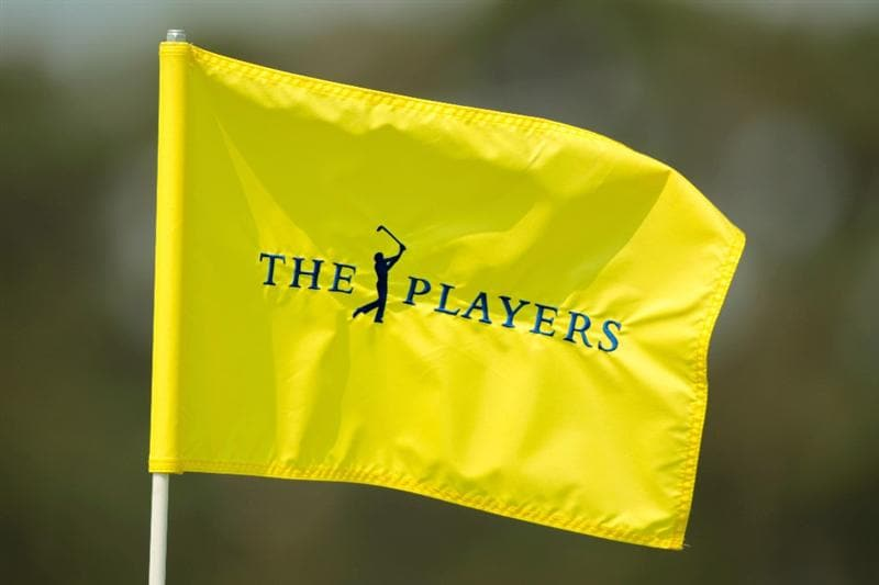 PONTE VEDRA BEACH, FL - MAY 10:  A flag blows in the breeze during a practice round prior to the start of THE PLAYERS Championship held at THE PLAYERS Stadium course at TPC Sawgrass on May 10, 2011 in Ponte Vedra Beach, Florida.  (Photo by Scott Halleran/Getty Images)