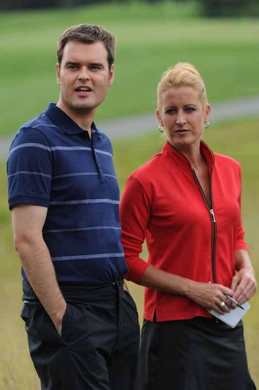Big Break Greenbrier; Tom Abbott and Stephanie Sparks