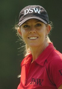 Jill McGill in action during the first round of the John Q. Hammonds Hotel Classic at the Cedar Ridge Country Club in Broken Arrow, Oklahoma on September 8, 2006.Photo by Steve Grayson/WireImage.com