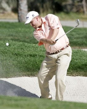 Craig Barlow in action during the third round at the Reno-Tahoe Open,  August 20,2005, held at Montreux GC, Reno, Nevada.Photo by Stan Badz/PGA TOUR/WireImage.com
