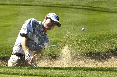 Steve Flesch during the second round of 'The International' at Castle Pines Golf Club on Friday, August 11, 2006 in Castle Rock, Colorado.Photo by Marc Feldman/WireImage.com