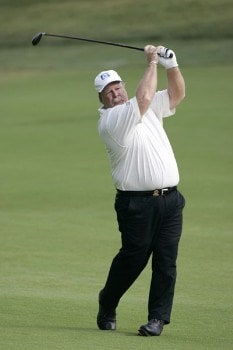 Craig Stadler in action  during the second round of the U. S. Senior Open, July 29,2005, held at the NCR Country Club, Kettering, Ohio.Photo by Stan Badz/PGA TOUR/WireImage.com