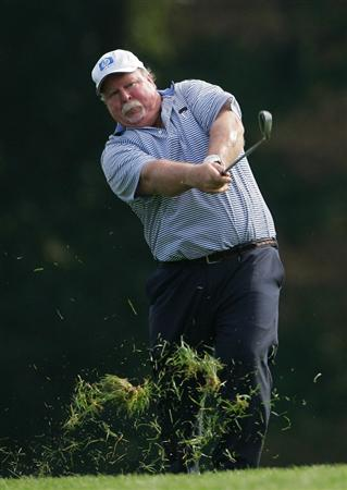 TIMONIUM, MD - OCTOBER 09:  Craig Stadler during the first round of the Constellation Energy Senior Players Championship at Baltimore Country Club East Course held on October 9, 2008 in Timonium, Maryland  (Photo by Michael Cohen/Getty Images)