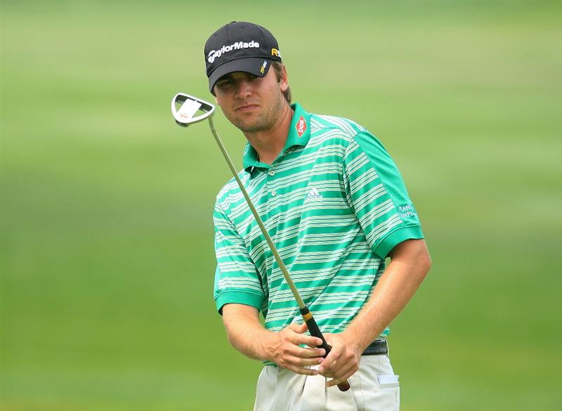 ORLANDO, FL - MARCH 27:  Sean O'Hair watches a putt on the 13th green during the second round of the Arnold Palmer Invitational at the Bay Hill Club & Lodge on March 27, 2009 in Orlando, Florida.  (Photo by Scott Halleran/Getty Images)