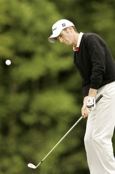 Gregory Bourdy during the first round of the 2005 Aa St Omer Open at the Aa St Omer Golf Club. June 16, 2005Photo by Pete Fontaine/WireImage.com