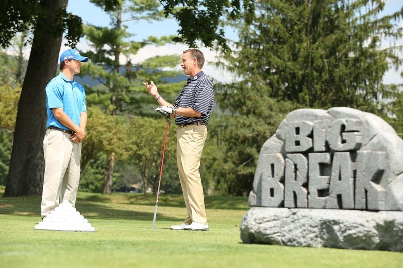 Big Break Academy Greenbrier, Michael Breed and Rick Cochran