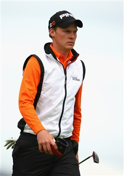 LUSS, UNITED KINGDOM - JULY 10:  Danny Willett of England walks on to the 17th green during the First Round of The Barclays Scottish Open at Loch Lomond Golf Club on July 10, 2008 in Luss, Scotland.  (Photo by Richard Heathcote/Getty Images)