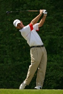 Danny Ellis on the 15th hole during the second round of the Nationwide Tour Event Chitimacha Louisiana Open at Le Triomphe Country Club in Broussard, LA on March 23, 2007. Nationwide Tour - 2007 Chitimacha Louisiana Open - Second RoundPhoto by Mike Ehrmann/WireImage.com