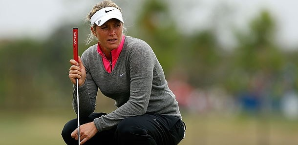 Suzann Pettersen at the 2012 CME Group Titleholders