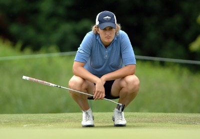 Giulia Sergas in action during the first round of the 2006 Franklin American Mortgage Championship benefiting the Monroe Carell Jr. Children's Hospital at Vanderbilt at Vanderbilt Legends Club in Franklin, Tennessee on May 4, 2006.Photo by Steve Grayson/WireImage.com