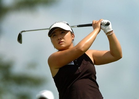 Jeong Jang in action during the final round of the 2005 Wendy's Championship For Children at Tartan Fields Golf Club in Dublin, Ohio August 28, 2005.Photo by Steve Grayson/WireImage.com