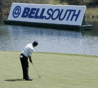 Gavin Coles leads the first round of the BellSouth Classic at TPC Sugarloaf in Duluth, Georgia, on March 30, 2006.Photo by: Stan Badz/PGA TOUR