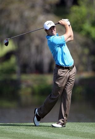 ORLANDO, FL - MARCH 23:  Trevor Immelman of South Africa plays a shot during the pro-am round prior to the Arnold Palmer Invitational presented by MasterCard at the Bay Hill Club and Lodge on March 23, 2011 in Orlando, Florida.  (Photo by Sam Greenwood/Getty Images)