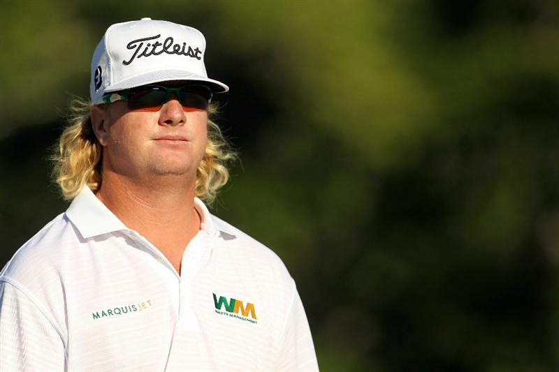 NORTON, MA - SEPTEMBER 06:  Charley Hoffman looks on from the 17th hole during the final round of the Deutsche Bank Championship at TPC Boston on September 6, 2010 in Norton, Massachusetts.  (Photo by Mike Ehrmann/Getty Images)