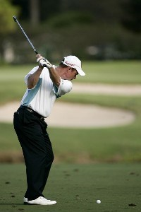Joe Durant during the third round of the 2006 FUNAI Classic at WALT DISNEY WORLD Resort on the Magnolia Course in Lake Buena Vista, Florida, on October 21, 2006. PGA TOUR - 2006 FUNAI Classic at the WALT DISNEY WORLD Resort - Third RoundPhoto by Sam Greenwood/WireImage.com