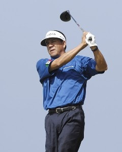 Esteban Toledo of Mexico during the third round of the WGC-Barbados World Cup held on the Country Club Course at the Sandy Lane Resort in St. James, Barbados on December 9, 2006. PGA TOUR - WGC - 2006 Barbados World Cup - Third RoundPhoto by Steve Levin/WireImage.com