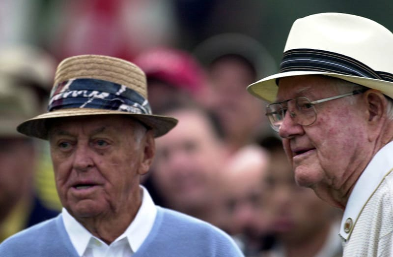 Sam Snead and Byron Nelson
